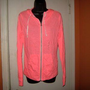 Flirtitude Coral Splash Sweatshirt